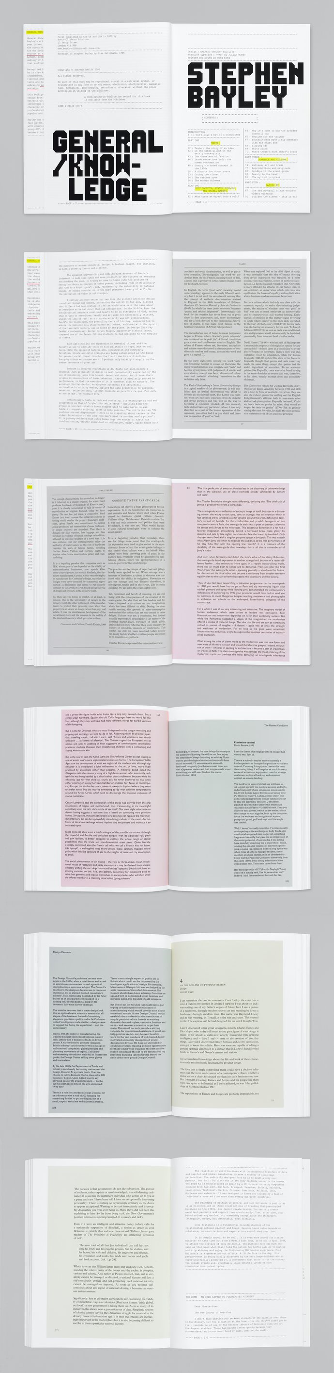 Booth-Clibborn Editions – Stephen Bayley: General Knowledge, 2000 (Publication), image 3