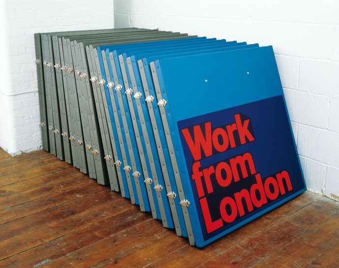 British Council – Work from London, 1996 (Poster), image 2