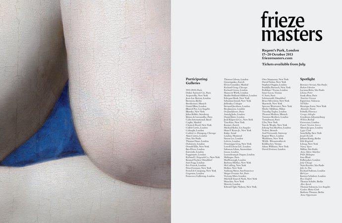 Frieze Masters – 2013 campaign, image 5