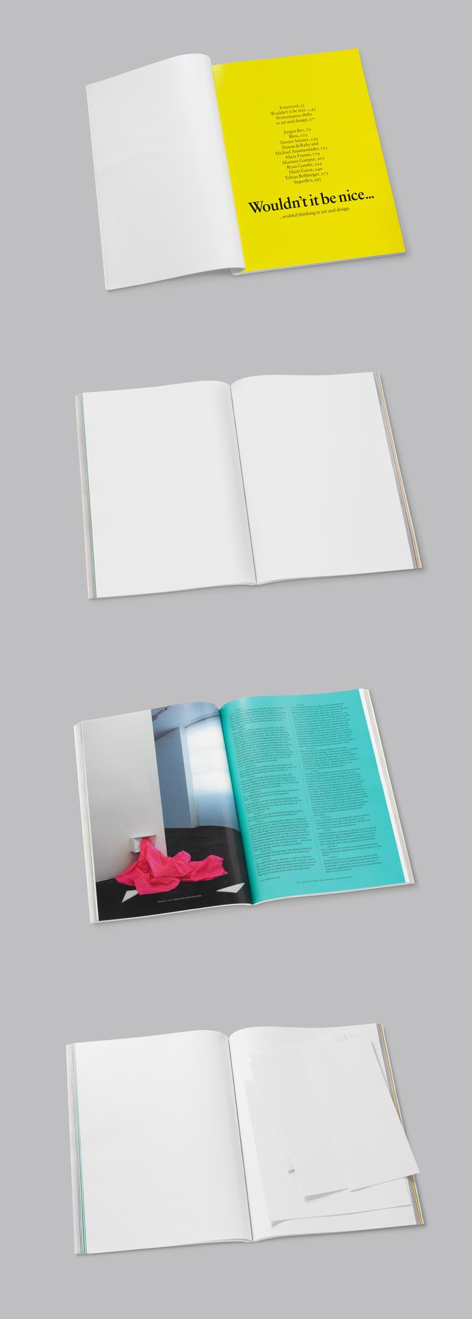 Centre d'Art Contemporain, Geneva – Wouldn't it be nice…, 2008 (Publication), image 4