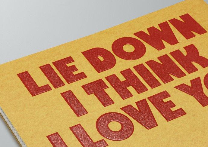 Charming Baker – Lie Down I Think I Love You, 2013 (Publication), image 7