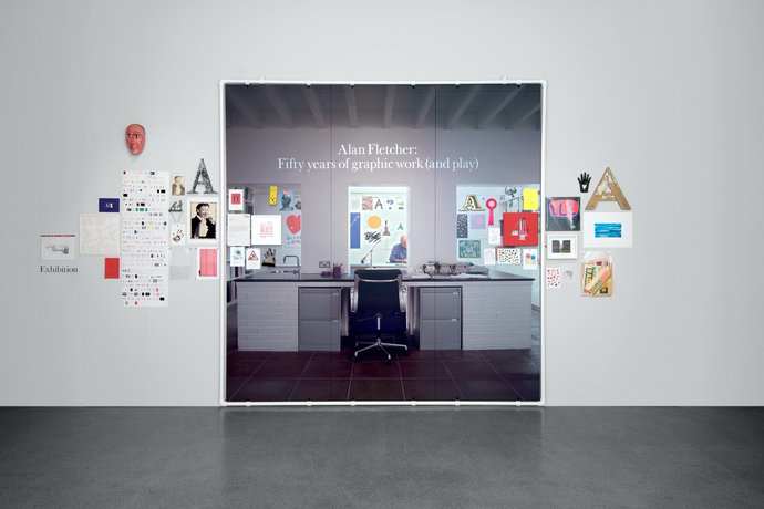 Design Museum – Alan Fletcher: 50 years of graphic work (and play), 2006 (Exhibition), image 1