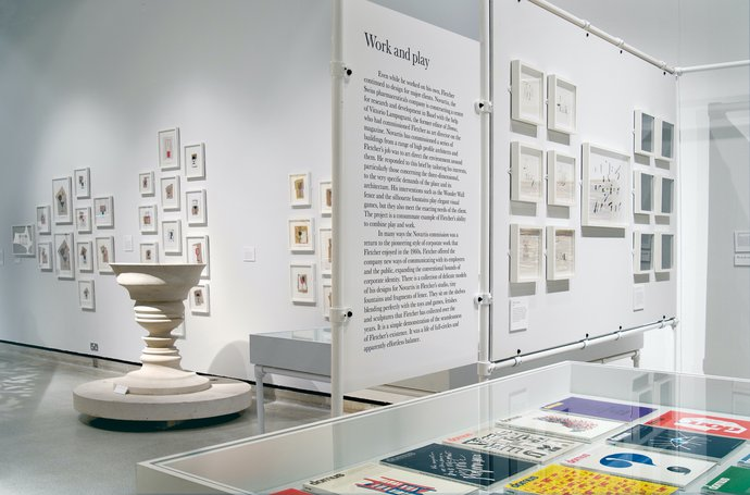 Design Museum – Alan Fletcher: 50 years of graphic work (and play), 2006 (Exhibition), image 7