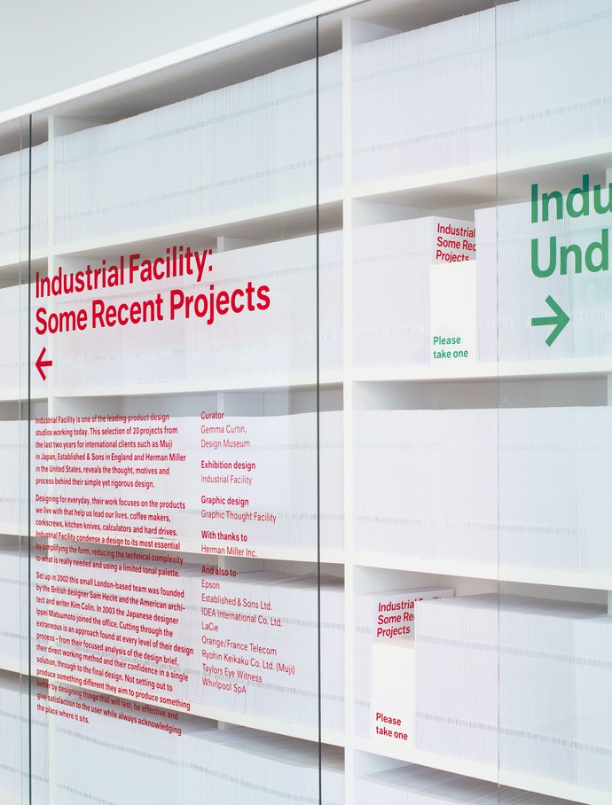 Design Museum – Industrial Facility: Some Recent Projects/Under a Fiver, 2008 (Exhibition), image 3