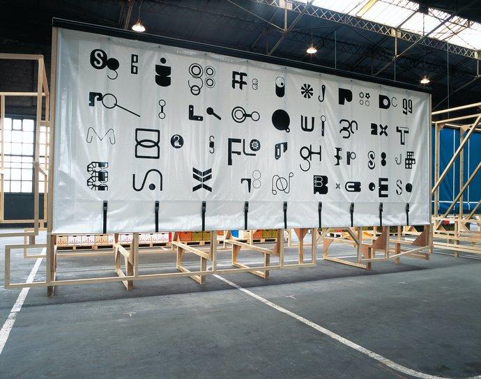 Festival de L'affiche de Chaumont – The/Le Garage (with Paul Elliman), 2004 (Exhibition), image 8