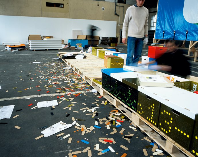 Festival de L'affiche de Chaumont – The/Le Garage (with Paul Elliman), 2004 (Exhibition), image 10