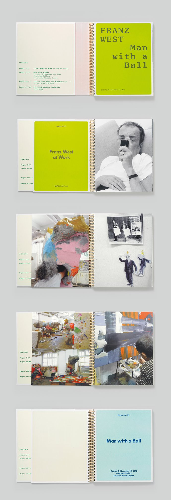 Gagosian – Franz West: Man with a Ball, 2012 (Publication), image 3