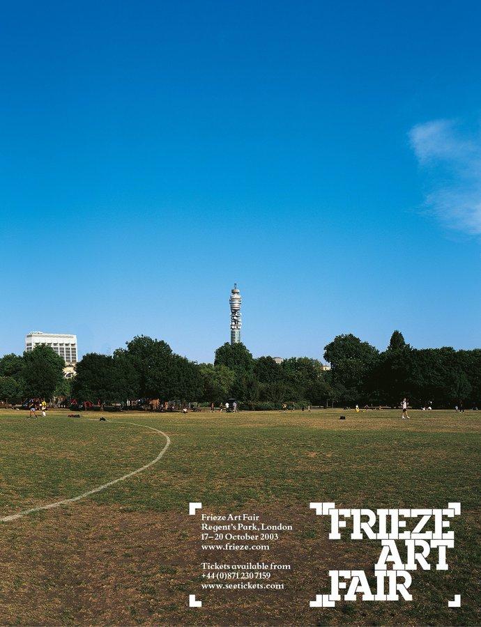 Frieze Art Fair – 2003 campaign, image 1