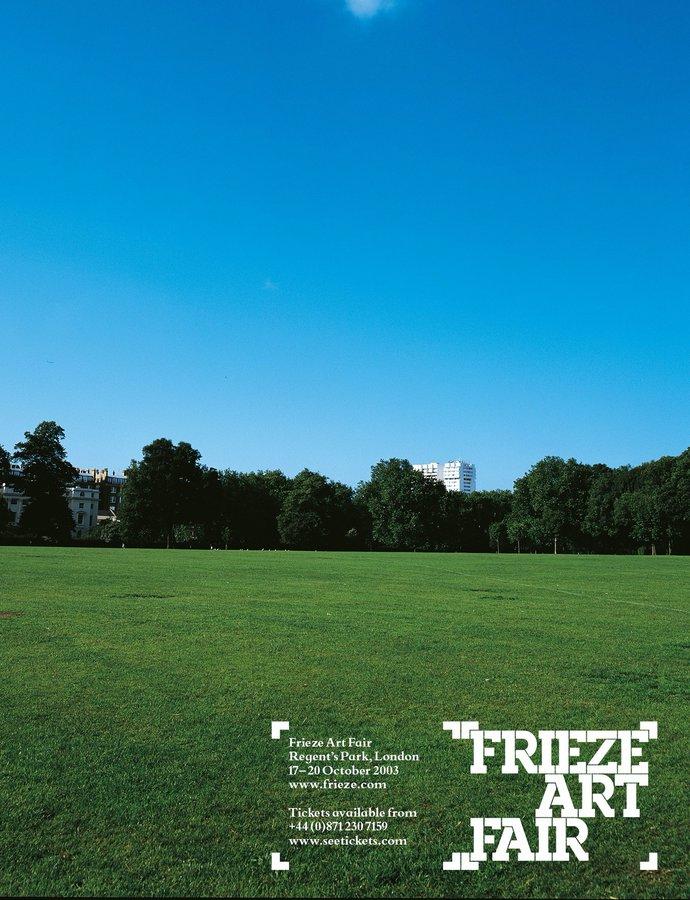 Frieze Art Fair – 2003 campaign, image 2