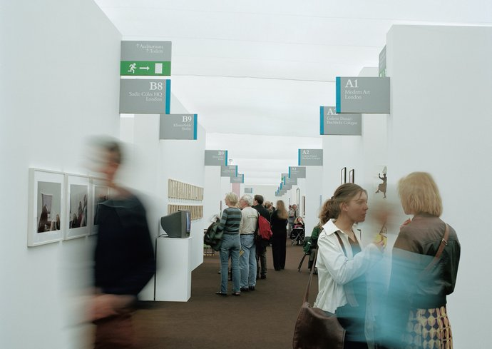 Frieze Art Fair – Wayfinding, 2002, image 1