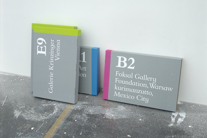 Frieze Art Fair – Wayfinding, 2002, image 5