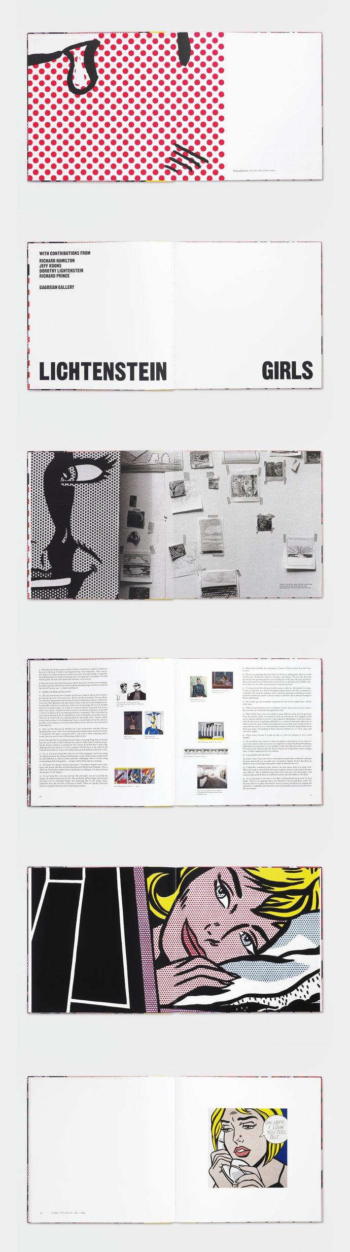 Gagosian – Roy Lichtenstein: Girls, 2008 (Publication), image 2