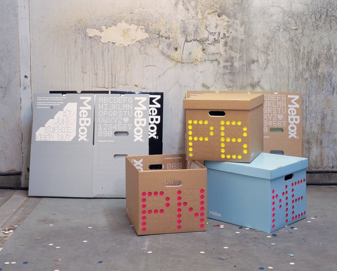 Graphic Thought Facility – MeBox customisible storage system, 2002 (Product), image 2