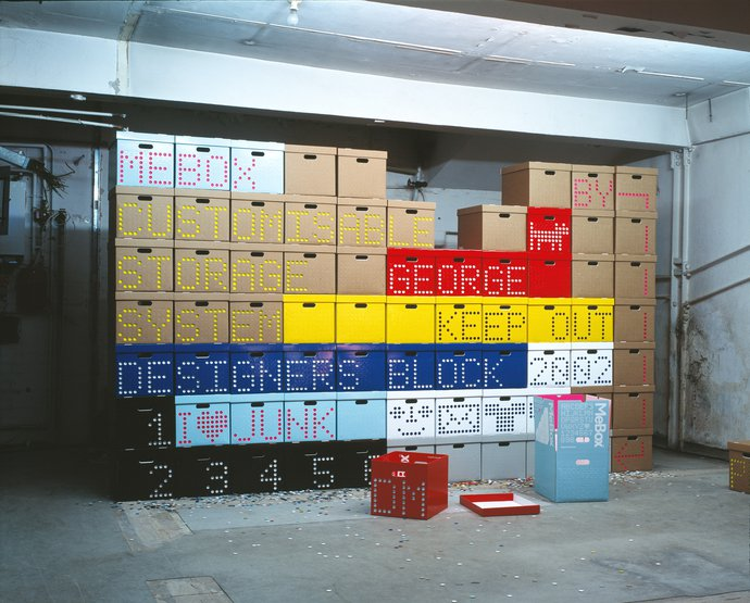 Graphic Thought Facility – MeBox customisible storage system, 2002 (Product), image 1