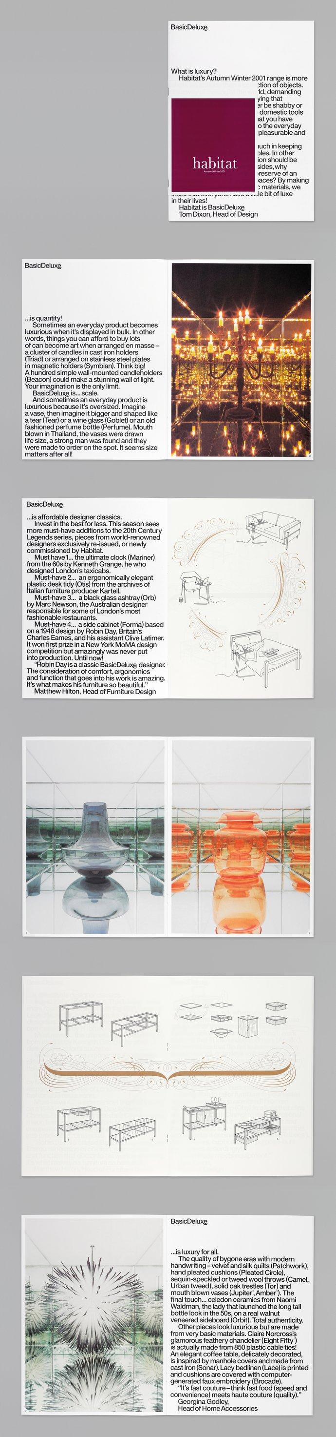 Habitat – Autumn/Winter 2001: Basic Deluxe collection (Retail), image 1