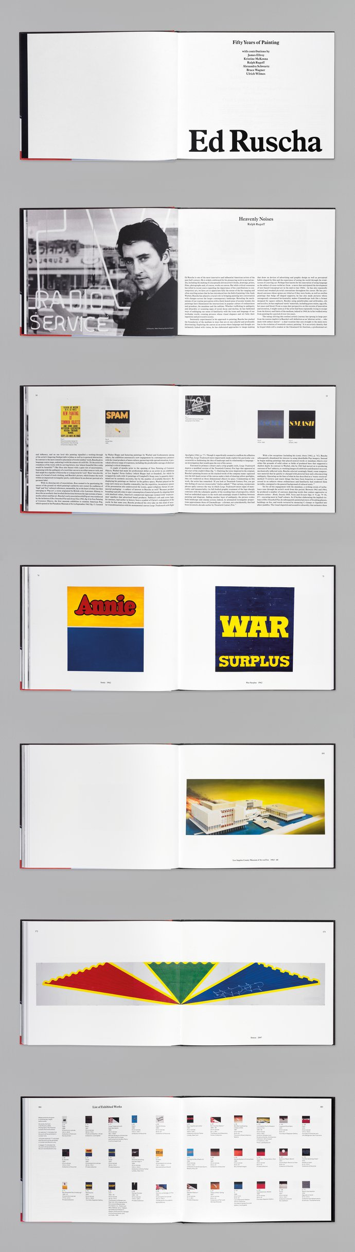 Hayward Gallery – Ed Ruscha: Fifty Years of Painting, 2010 (Publication), image 2