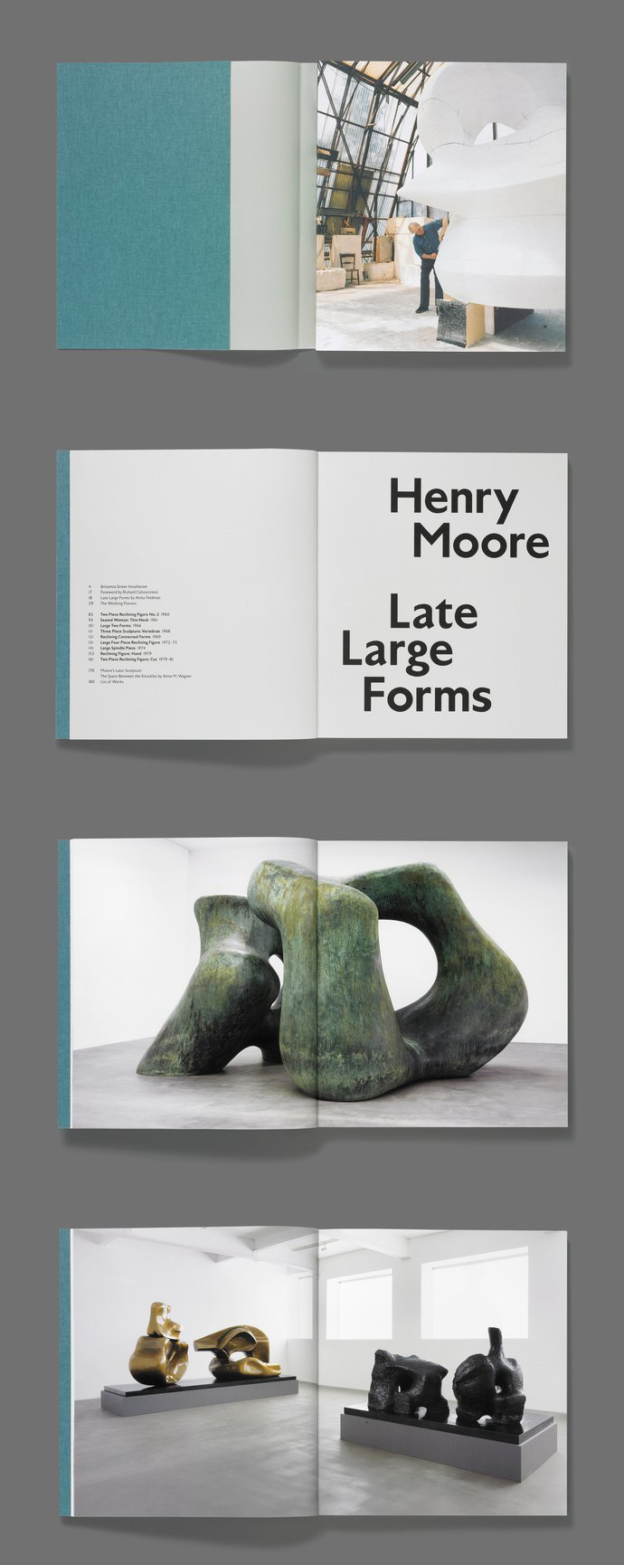 Gagosian – Henry Moore: Late Large Forms, 2012 (Publication), image 3