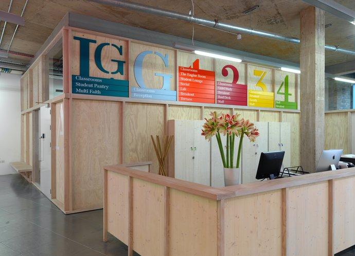 Hult International Business School – Wayfinding, 2015, image 5