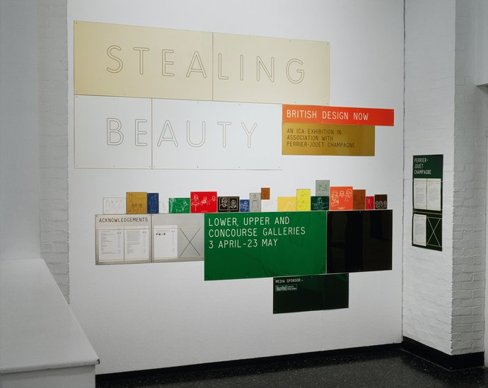 ICA – Stealing Beauty: New British Design, 1999 (Exhibition), image 1