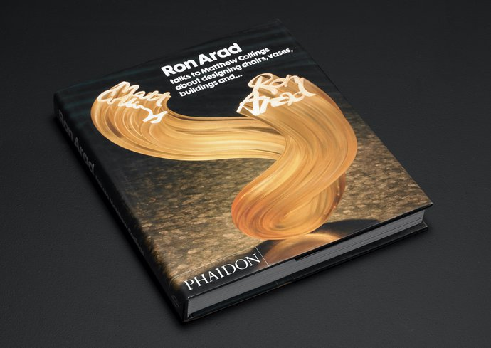 Phaidon – Ron Arad talks to Matthew Collings, 2004 (Publication), image 1