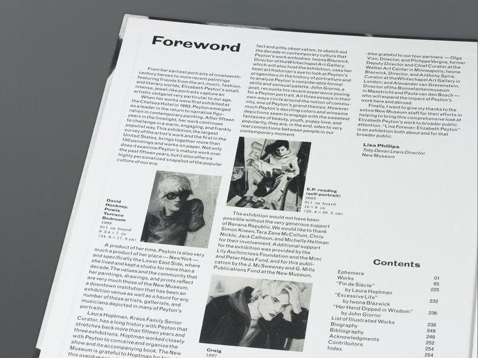 Phaidon/New Museum – Elizabeth Peyton: Live Forever, 2008 (Publication), image 3