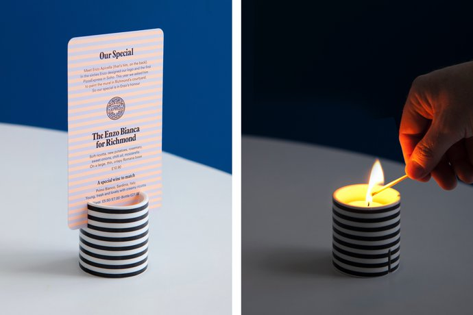 Pizza Express – Concept Restaurants, 2010 (Identity), image 9