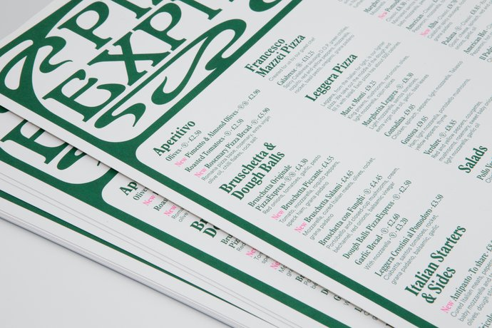 Pizza Express – Concept Restaurants, 2010 (Identity), image 10