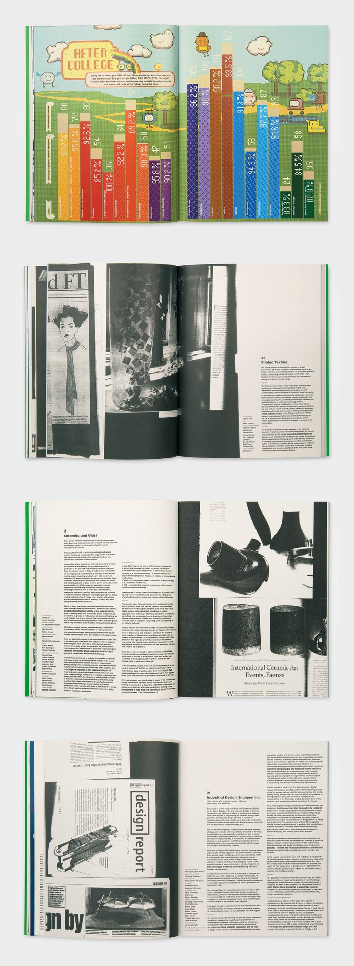 Royal College of Art  – 1998/1999 Prospectus, 1997 (Publication), image 4