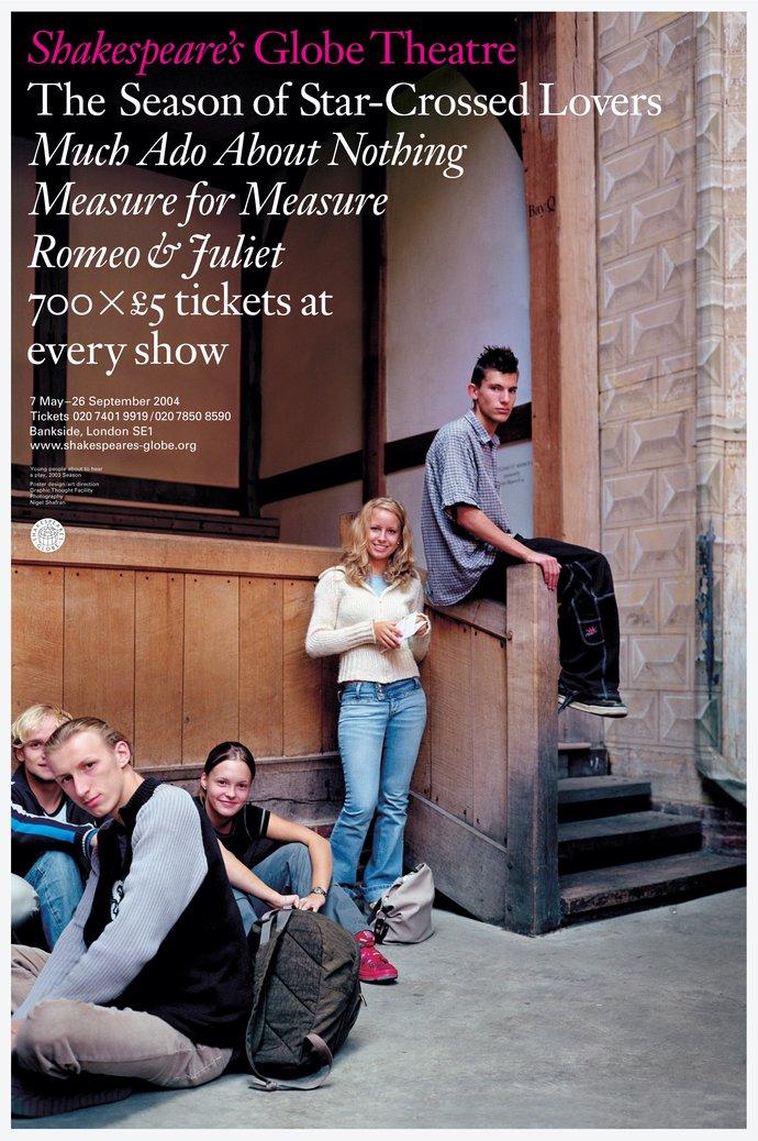 Shakespeare's Globe Theatre – 2004 season, 2003 (Campaign), image 1