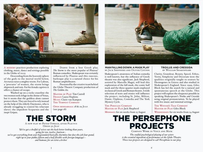 Shakespeare's Globe Theatre – 2005 season, 2004 (Campaign), image 4