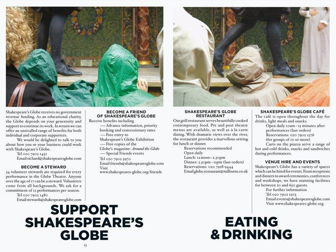 Shakespeare's Globe Theatre – 2005 season, 2004 (Campaign), image 5