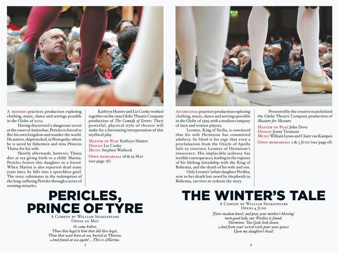 Shakespeare's Globe Theatre – 2005 season, 2004 (Campaign), image 2