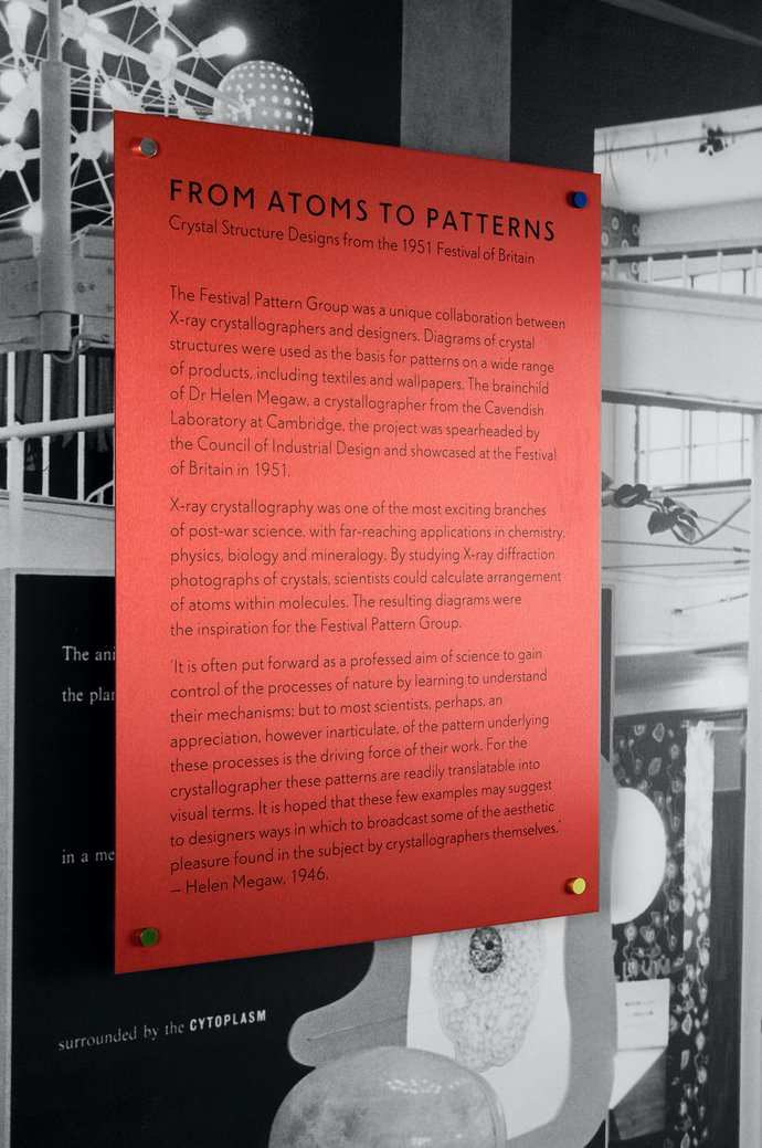 Wellcome Trust – From Atoms to Patterns, 2008 (Exhibition), image 7