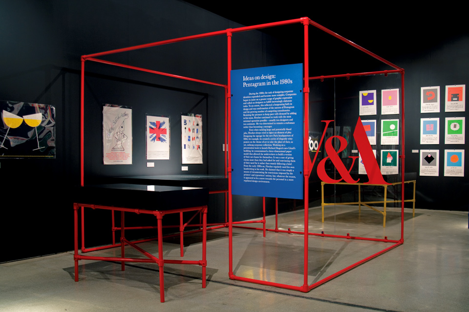 ideas for framing photo booth pictures - Design Museum – Alan Fletcher 50 years of graphic work