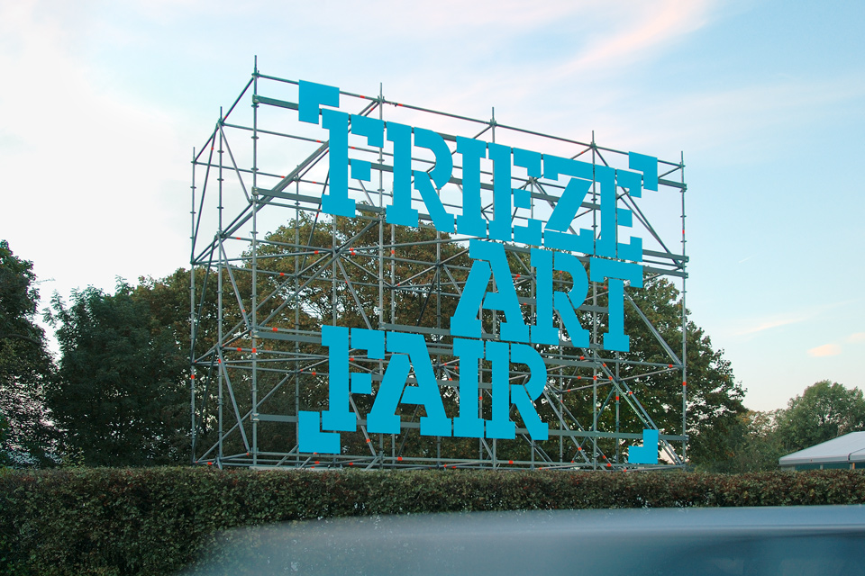 Frieze Art Fair identity