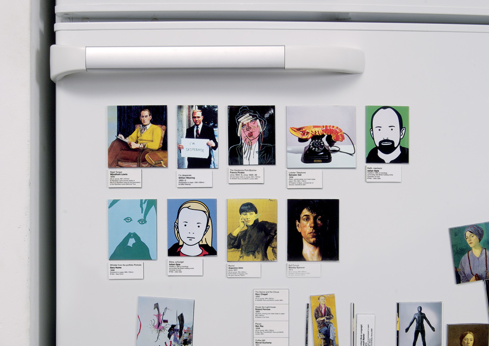 tate fridge magnet gallery 2002 product graphic thought facility