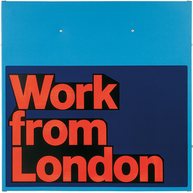 British Council – Work from London, 1996 (Poster), image 3